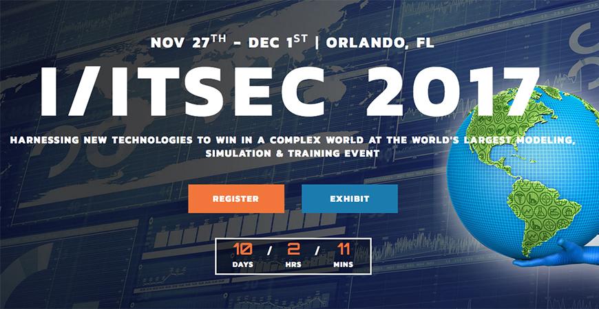 I-ITSEC 2017 event